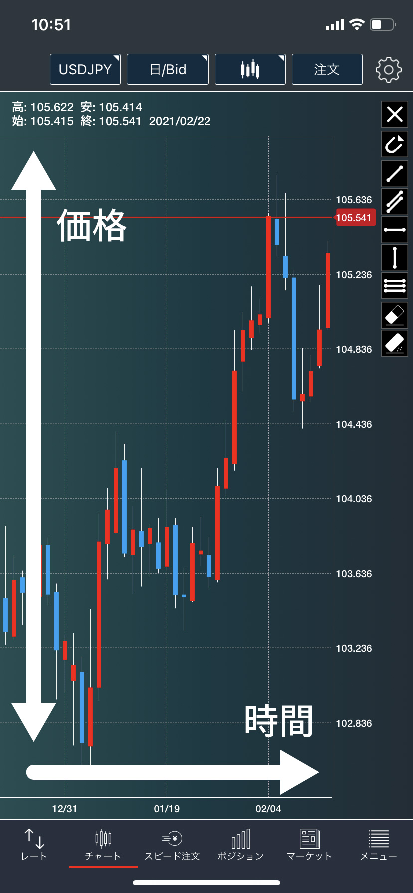 チャート fx FXのチャートは大画面の方が分析しやすい?しづらい?どっち?